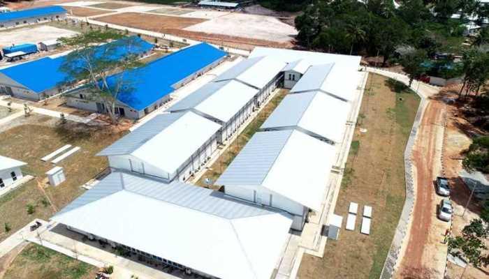 Camp Pengungsian Vietnam Disulap Menjadi Rumah Sakit Pasien Covid-19