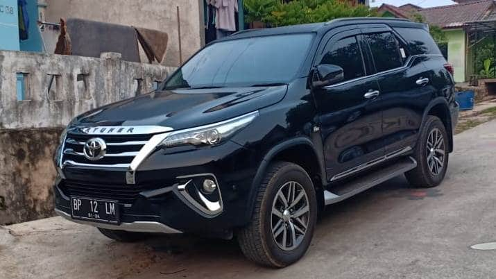 Rental Mobil Fortuner new Batam