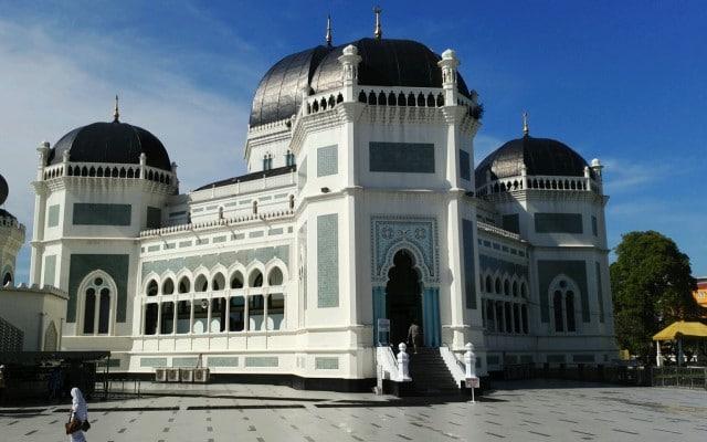 Masjid Raya Di Kota Medan